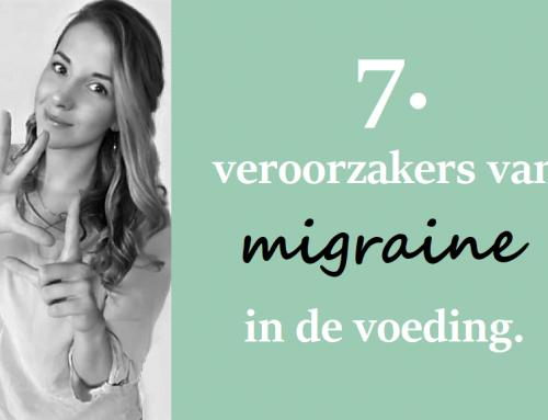 7 voedingsmiddelen die migraine kunnen veroorzaken