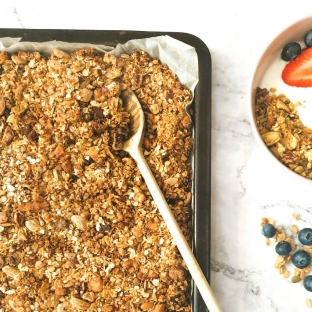 homemade glutenvrije granola