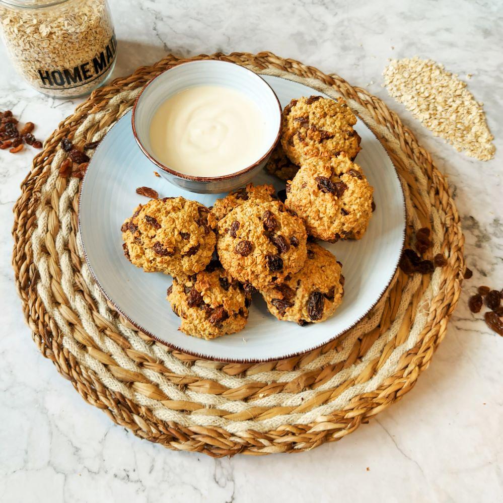 vanilla oat raisin snack