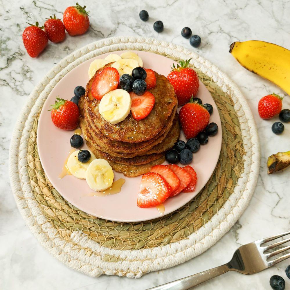 sunday morning breakfast pancakes