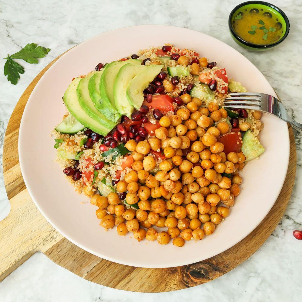 zomerse quinoa salade