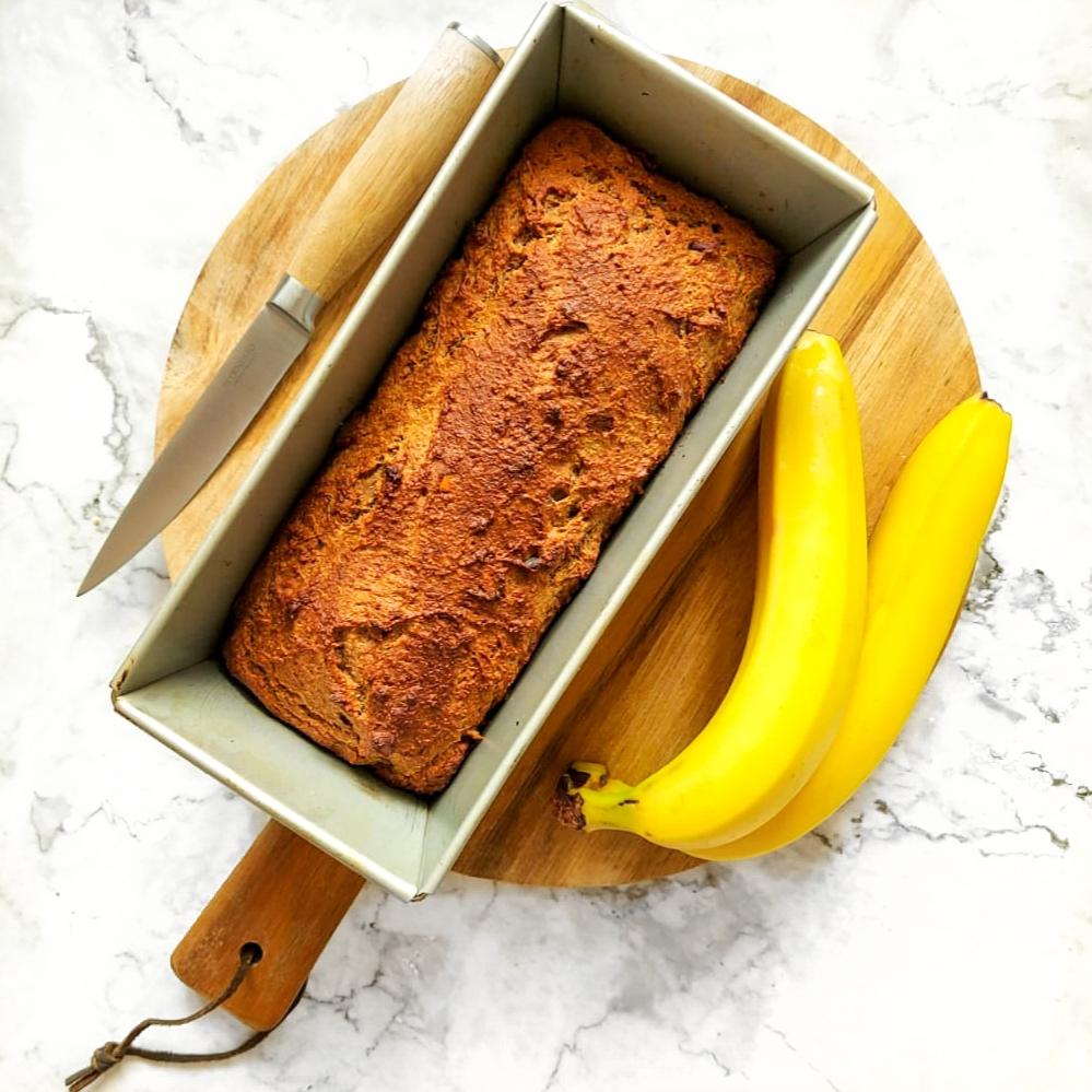 Heerlijk glutenvrij bananenbrood