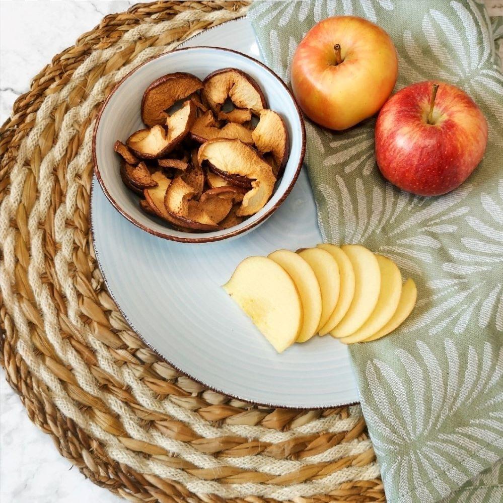 Herfstige appelchips