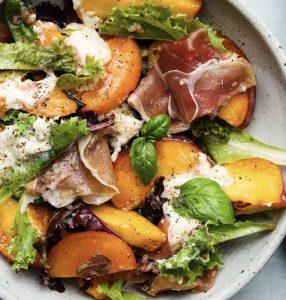 Frisse nectarine salade